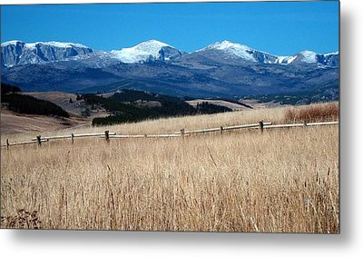 Bighorn Mountains Wy Metal Print