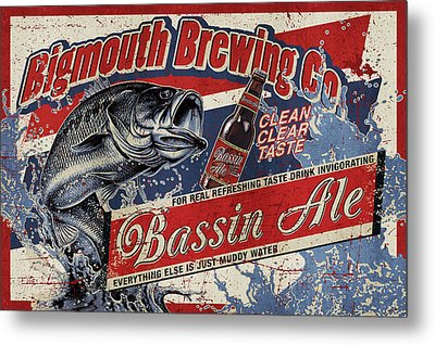 Bigmouth Brewing Metal Print