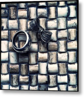 Bijouteries Metal Print by Marco Oliveira