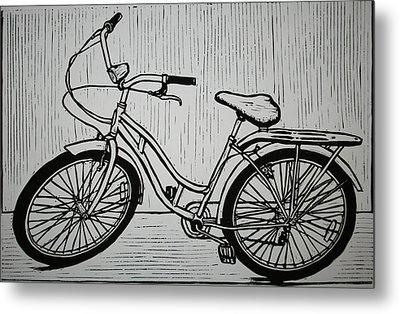 Bike 5 Metal Print by William Cauthern