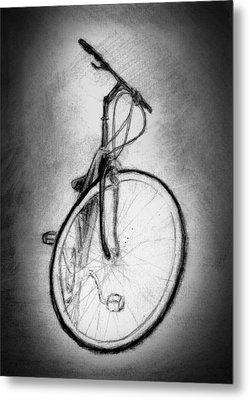 Bike Metal Print by Di Fernandes