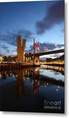 Bilbao 4 Metal Print