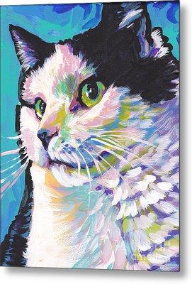 Billi Cat Baby Metal Print by Lea S