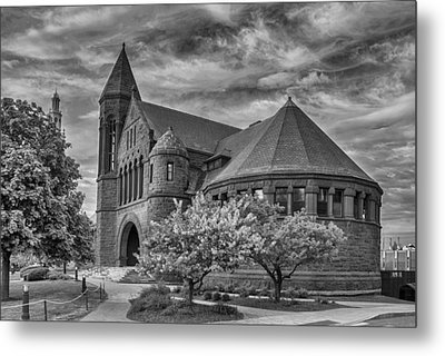 Billings Library At Uvm Burlington  Metal Print