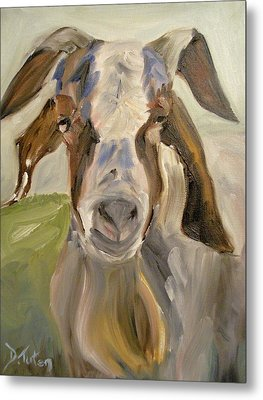 Metal Print featuring the painting Billy by Donna Tuten