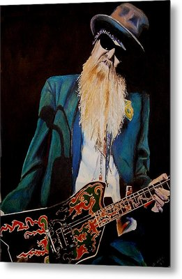 Billy Gibbons Metal Print