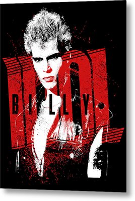 Billy Idol - Billy Metal Print by Epic Rights