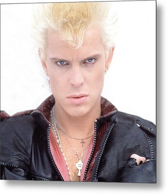 Billy Idol - Early Years Metal Print by Epic Rights
