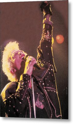 Billy Idol - Greatest Hits Inner Sleeve 2001 - Rebel Yell Metal Print by Epic Rights