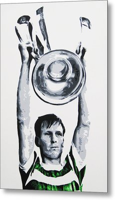 Billy Mcneill - Glasgow Celtic Fc Metal Print