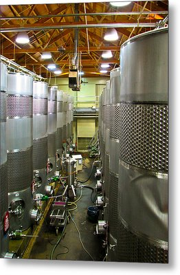 Biltmore Winery Metal Print by Brian Gibson