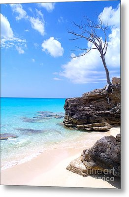 Bimini Beach Metal Print