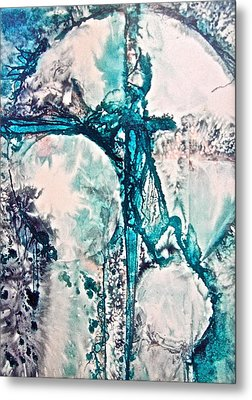 Binding Force Metal Print by Carolyn Rosenberger
