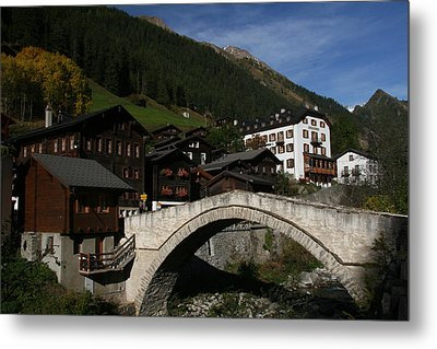 Metal Print featuring the photograph Binn by Travel Pics