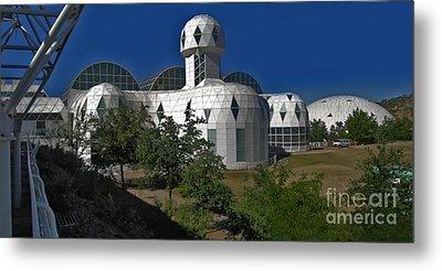 Biosphere2 Metal Print by Gregory Dyer