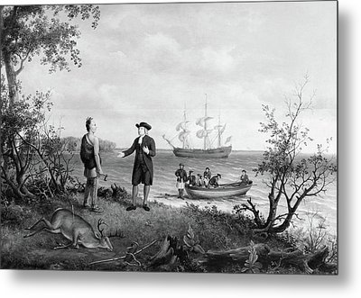 Birch William Penn, C1850 Metal Print