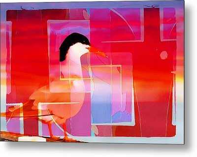 Bird By The Bay Metal Print