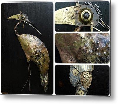 Bird Cx Metal Print by Vladimiras Nikonovas