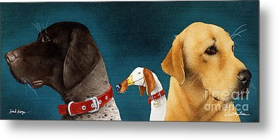 Bird Dogs... Metal Print