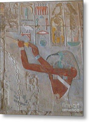 Bird God Horus Metal Print