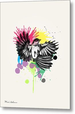 Bird Metal Print by Mark Ashkenazi