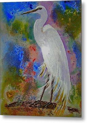 Bird Of Beauty Metal Print