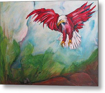 Bird Of Prey Metal Print by Paul Kilyanek