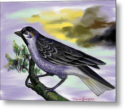 Bird Metal Print by Twinfinger