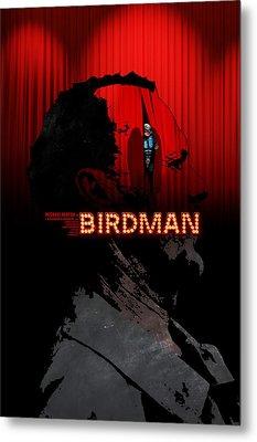 Birdman Metal Print by Edgar Ascensao