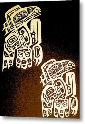 Birdmaze Metal Print by Kryztina Spence
