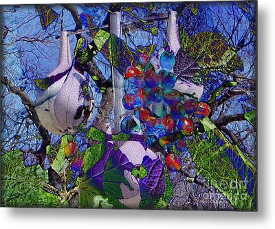 Metal Print featuring the photograph Bird's Eye View by Kathie Chicoine