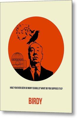 Birds Poster 2 Metal Print by Naxart Studio