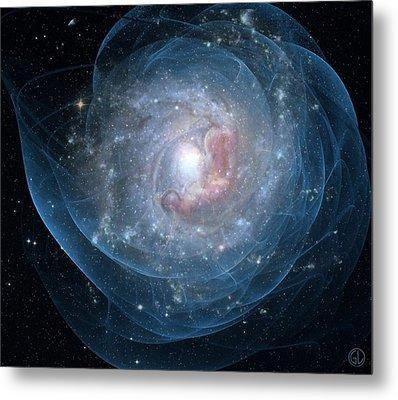 Birth Of A Galaxy Metal Print by Gun Legler