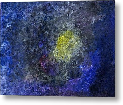 Metal Print featuring the painting Birth Of A Star by Tracey Myers
