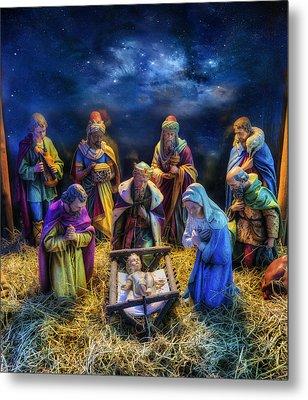 Birth Of Jesus Metal Print