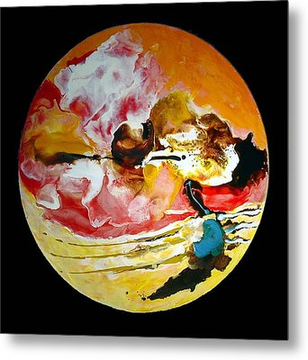 Birth Of Spring No 4 Metal Print