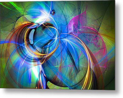 Birth Of The Butterfly Metal Print by Modern Art Prints