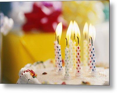 Birthday Cake Metal Print