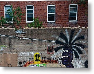 Bisbee Arizona Graffiti Metal Print by Dave Dilli