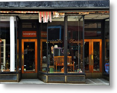 Bisbee Arizona Store Front Metal Print by Dave Dilli