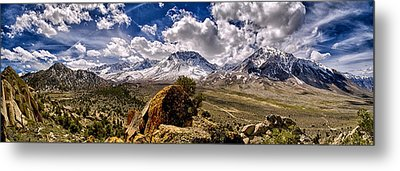 Bishop California Metal Print by Cat Connor