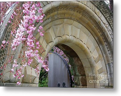 Metal Print featuring the photograph Bishop's Gate by John S