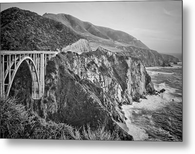 Bixby Overlook Metal Print by Heather Applegate
