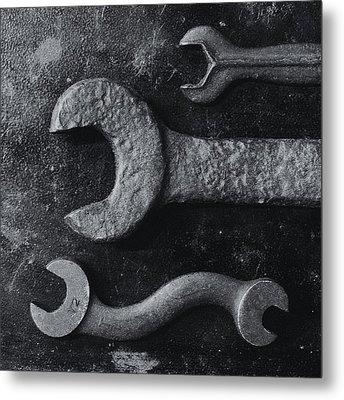 Black 34 Metal Print by Tom Druin