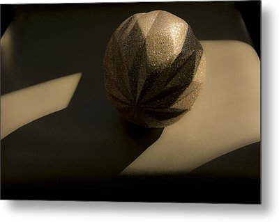 Metal Print featuring the photograph Study Of Shadows And Natural Light. by Renee Anderson