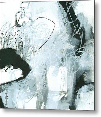 Black And White #1 Metal Print by Jane Davies