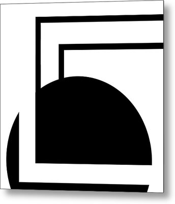 Black And White Art - 127 Metal Print by Ely Arsha