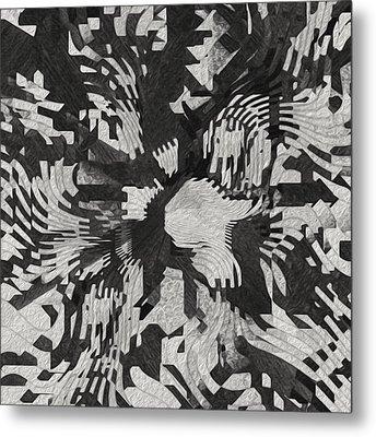 The Valley Below Metal Print by Jack Zulli