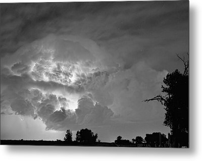 Black And White Light Show Metal Print by James BO  Insogna
