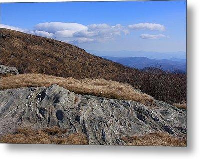 Black Balsam Knob-north Carolina Metal Print by Mountains to the Sea Photo